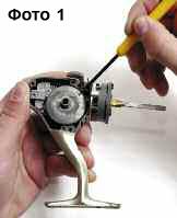 Эксплуатация и ремонт спиннинговых катушек